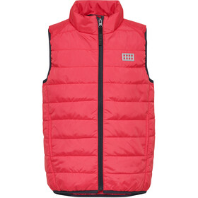 LEGO wear Sam 210 Vest Kids coral red